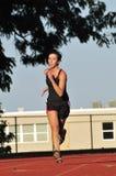 Female runner training Royalty Free Stock Image