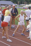 Female runners Stock Image