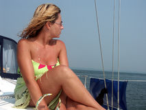 Female Sailor Royalty Free Stock Images
