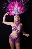 Female samba dancer Stock Photos