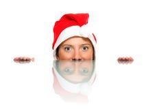 Female Santa Stock Image