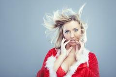 Female Santa Stock Photography