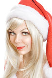 Female Santa Claus Royalty Free Stock Photography