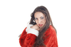 Female Santa stock photos