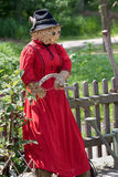Female scarecrow Royalty Free Stock Photos