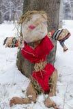 Female Scarecrow Royalty Free Stock Image