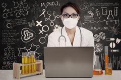 Female scientist Royalty Free Stock Images