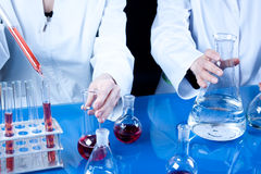 Female Scientists Royalty Free Stock Photography