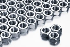 Female screw, tools royalty free stock images