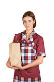 Female seller Stock Photography