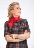 Female senior portrait Stock Photo