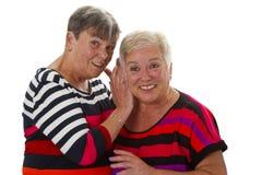 Female Seniors Royalty Free Stock Photo