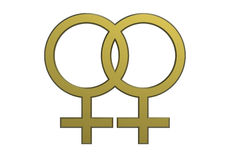 Female sex symbol Stock Image