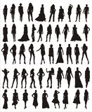 Female  shapes Royalty Free Stock Images