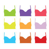 Female shirt color art  Stock Photos