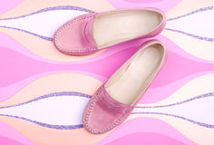 Female shoes Royalty Free Stock Photography