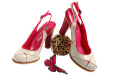 Female shoes Royalty Free Stock Image