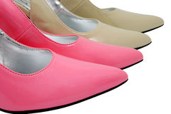 Female shoes Royalty Free Stock Photos