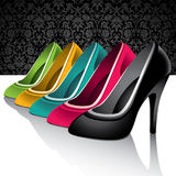 Female shoes. Stock Images