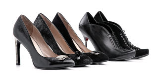 Female shoes Stock Photo