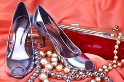 Female shoes Royalty Free Stock Photo
