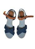 Female shoes on white background Stock Image