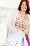 Female shopper Stock Photography