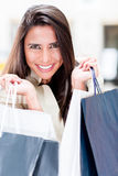 Female shopper Stock Image