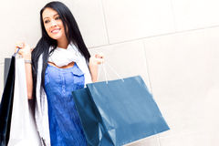 Female shopper Royalty Free Stock Image