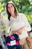 Female shopper Royalty Free Stock Photography