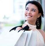 Female shopper Royalty Free Stock Images
