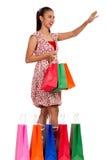 Female shopper Royalty Free Stock Photography