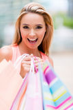 Female shopper Stock Photos
