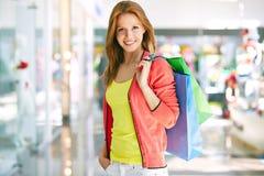 Female shopper Royalty Free Stock Image