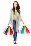 Female shopper Stock Photo