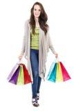 Female shopper Stock Photo