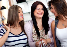 Female shoppers Stock Photography