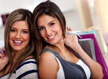 Female shoppers Royalty Free Stock Photo