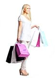 Female Shopping Stock Photo