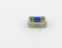 Female Side of Video Graphics Array or VGA Adapter Stock Photos