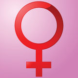 Female sign Royalty Free Stock Images