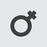 Female sign icon illustration Stock Photography