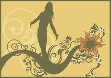 Female silhouette Royalty Free Stock Photos