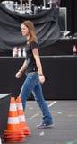 Female singer Christina Stuermer Royalty Free Stock Image