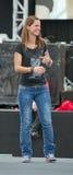 Female singer Christina Stuermer Stock Photos