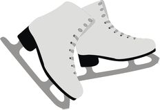 The female skates Royalty Free Stock Photography