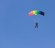 Female skydiver Royalty Free Stock Images