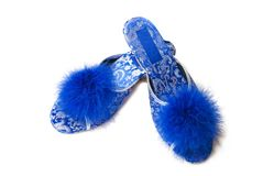 Female slippers | Isolated Royalty Free Stock Photos