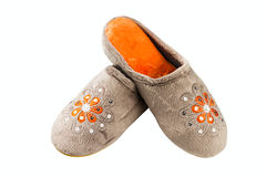 Female slippers Stock Photography