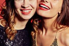Female smiles Royalty Free Stock Photos